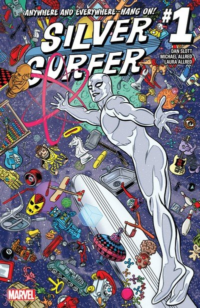 Silver Surfer Vol. 6 #1 – 14 + TPBs (2016-2017)