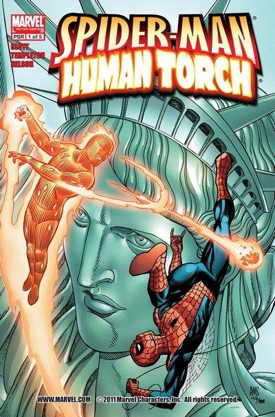 Spider-Man – Human Torch #1 – 5 (2005)