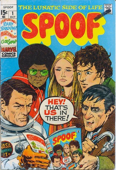 Spoof Vol. 1 #1 – 5 (1970-1973)