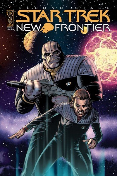 Star Trek – New Frontier #1 – 5 (2008)