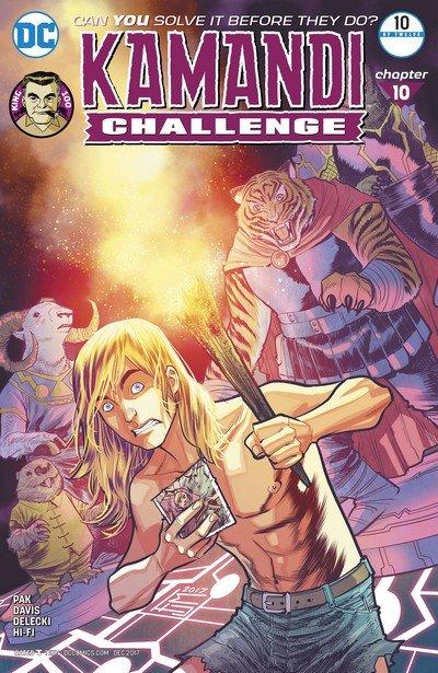 The Kamandi Challenge #10 (2017)