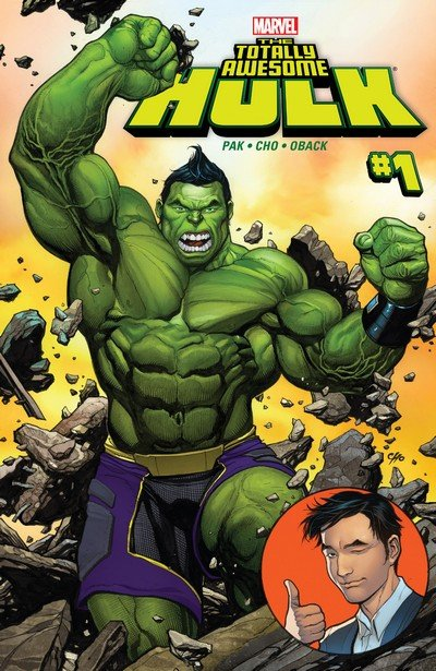 The Totally Awesome Hulk #1 – 23 + TPB Vol. 1 – 4 (2016-2017)