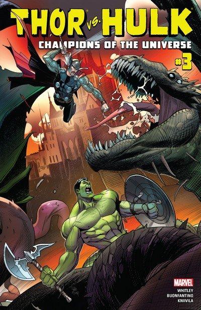 Thor vs. Hulk – Champions of the Universe #3 (2017)