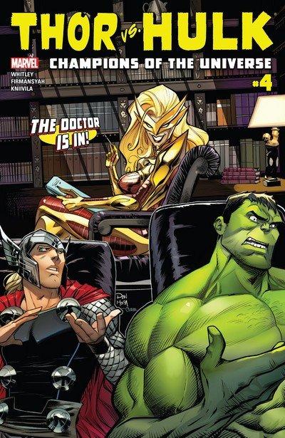 Thor vs. Hulk – Champions of the Universe #4 (2017)