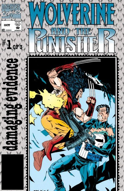 Wolverine – Punisher – Damaging Evidence #1 – 3 (1993)