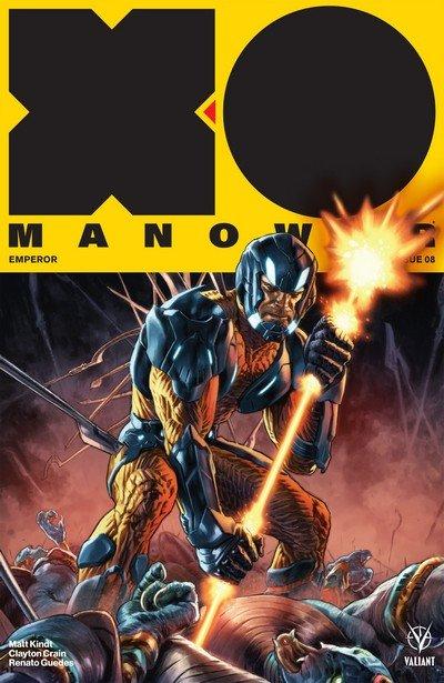 X-O Manowar #8 (2017)