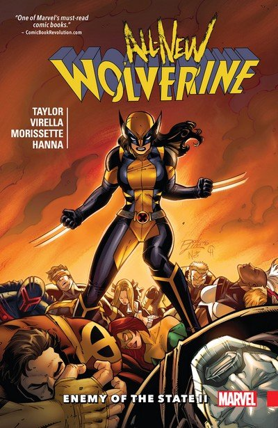 All-New Wolverine Vol. 3 – Enemy of the State II (TPB) (2017)