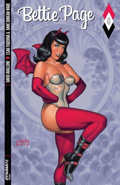 Bettie Page #4 (2017)