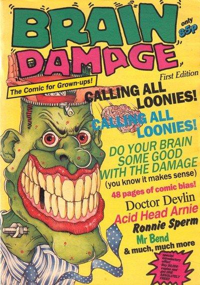 Brain Damage #1 – 12 (1989)