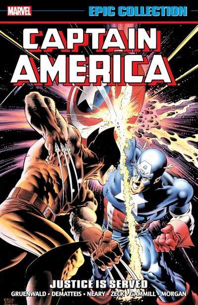 Captain America Epic Collection Vol. 13 – Justice is Served (2017)