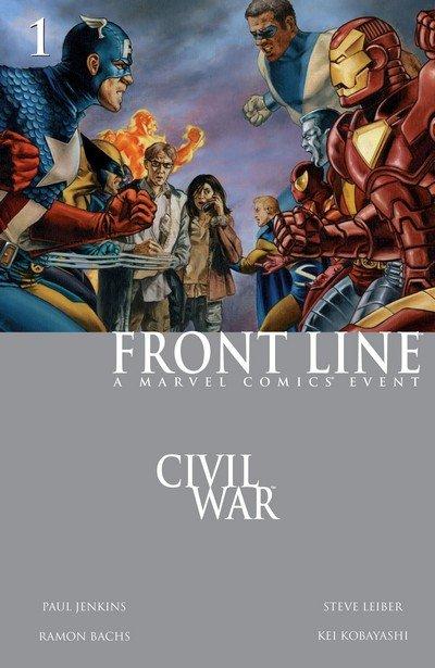 Civil War – Front Line #1 – 11 (2006-2007)