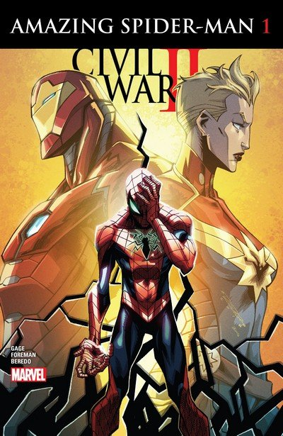 Civil War II – Amazing Spider-Man #1 – 4 (2016)