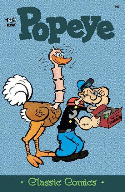 Classic Popeye #63 (2017)