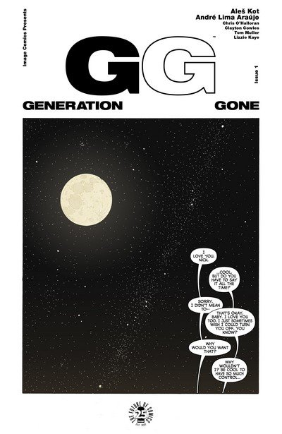 Generation Gone #1 – 5 (2017)