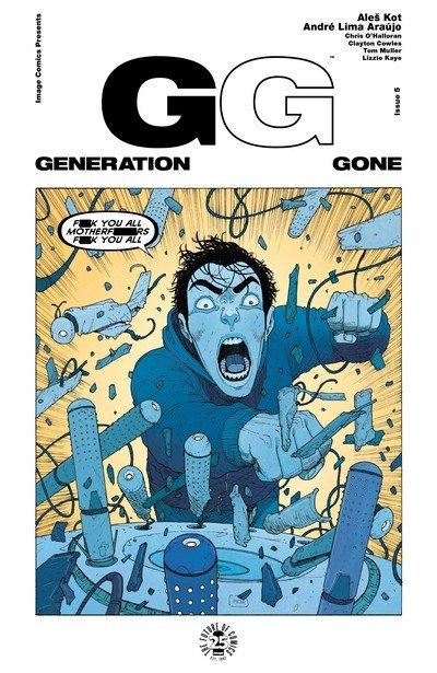 Generation Gone #5 (2017)
