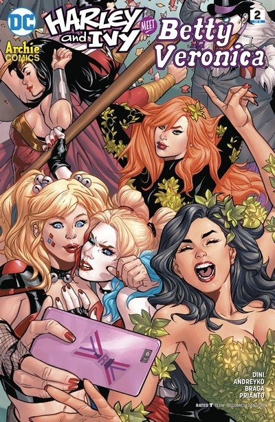 Harley & Ivy Meet Betty & Veronica #2 (2017)