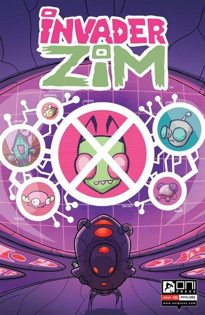 Invader Zim #25 (2017)