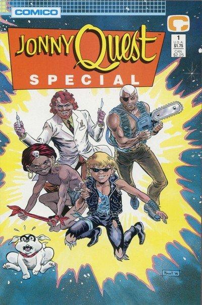 Jonny Quest Special #1 – 2 (1988)