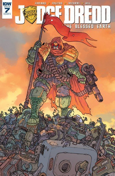 Judge Dredd – The Blessed Earth #7 (2017)