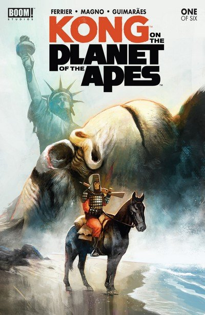 Kong on the Planet of the Apes #1 (2017)