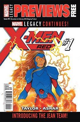 Marvel Previews #5 (2017)