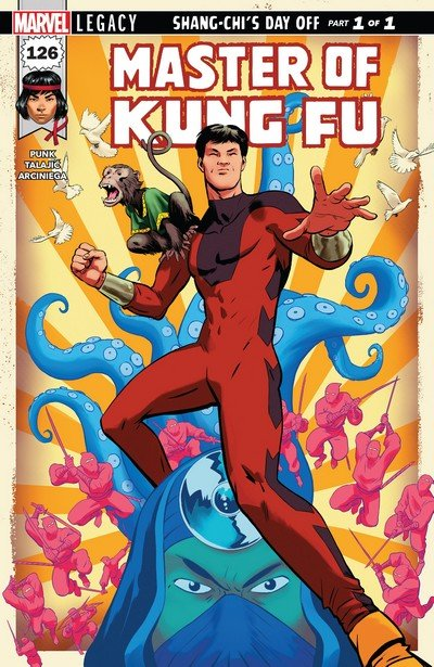 Master of Kung Fu #126 (2017)