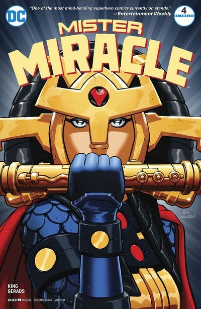 Mister Miracle #4 (2017)