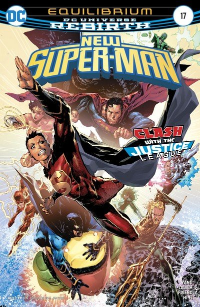 New Super-Man #17 (2017)