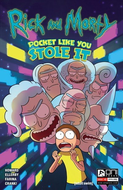 Rick and Morty – Pocket Like You Stole It #5 (2017)