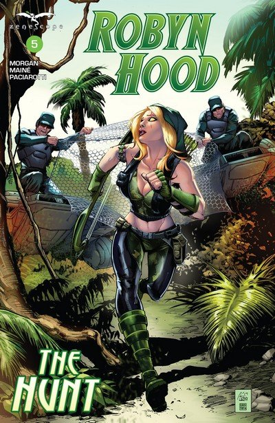 Robyn Hood The Hunt #5 (2017)