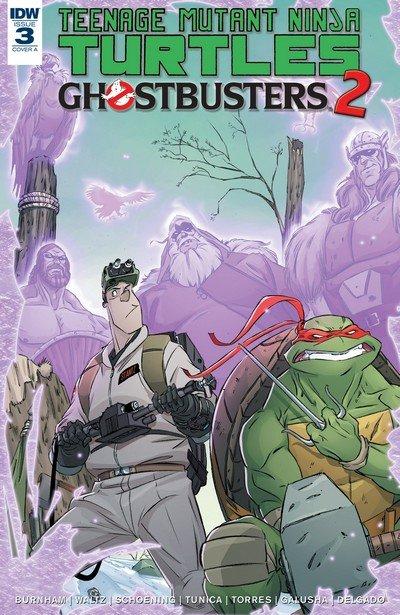 Teenage Mutant Ninja Turtles-Ghostbusters II #3 (2017)