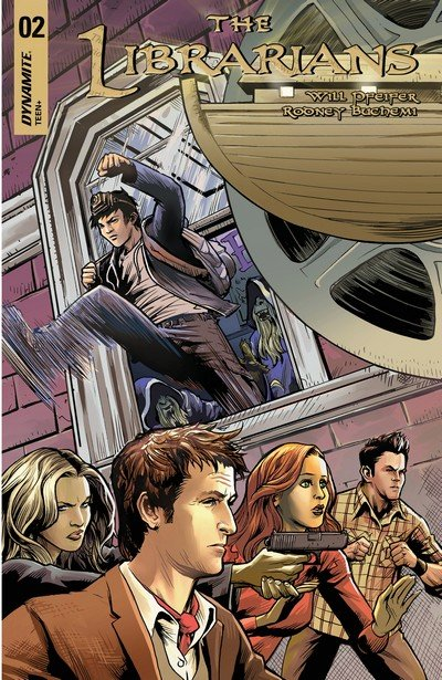 The Librarians #2 (2017)