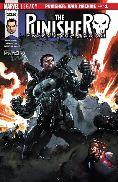 The Punisher #218 (2017)