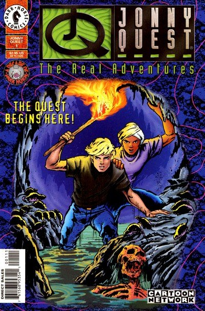 The Real Adventures of Jonny Quest #1 – 12 (1996-1997)
