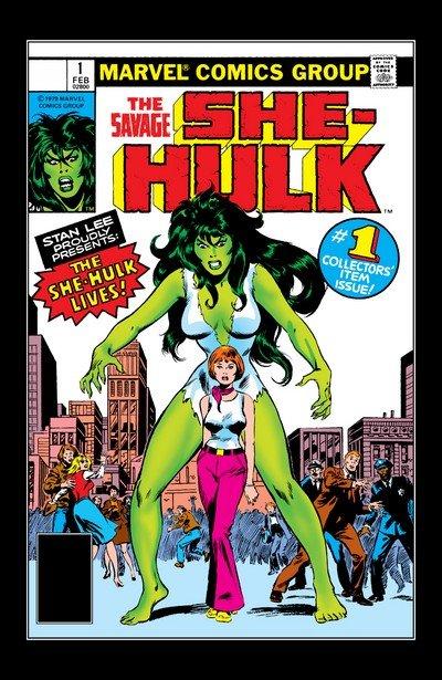 The Savage She-Hulk Vol. 1 #1 – 25 (1980-1982)