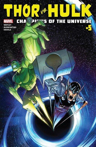 Thor vs. Hulk – Champions of the Universe #5 (2017)