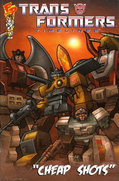 Transformers – Timelines – Cheap Shots #1 (2008)