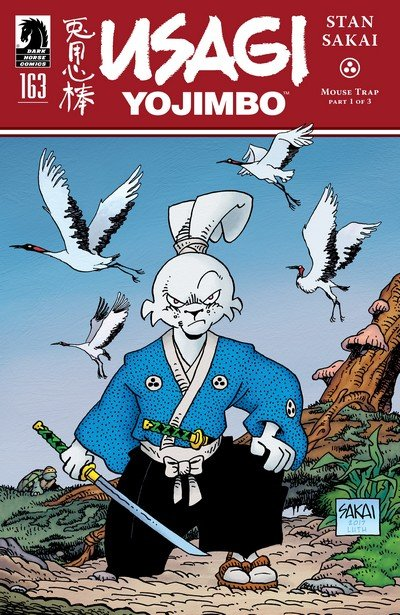 Usagi Yojimbo #163 (2017)