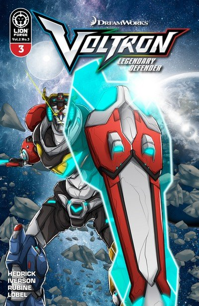 Voltron – Legendary Defender Vol. 2 #3 (2017)