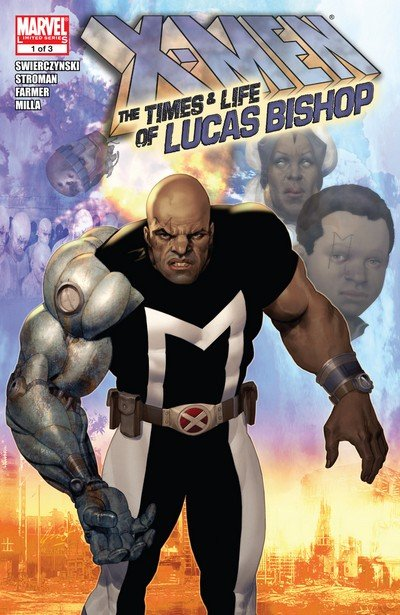 X-Men – The Times and Life of Lucas Bishop #1 – 3 (2009)