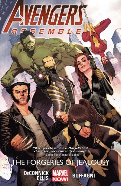 Avengers Assemble – The Forgeries of Jealousy (TPB) (2015)