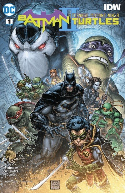 Batman – Teenage Mutant Ninja Turtles II #1 (2017)