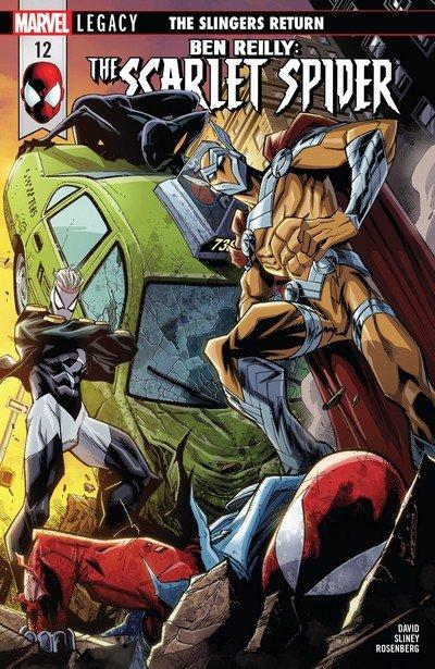 Ben Reilly – Scarlet Spider #12 (2017)