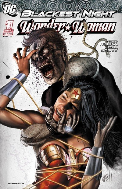 Blackest Night – Wonder Woman #1 – 3 (2010)