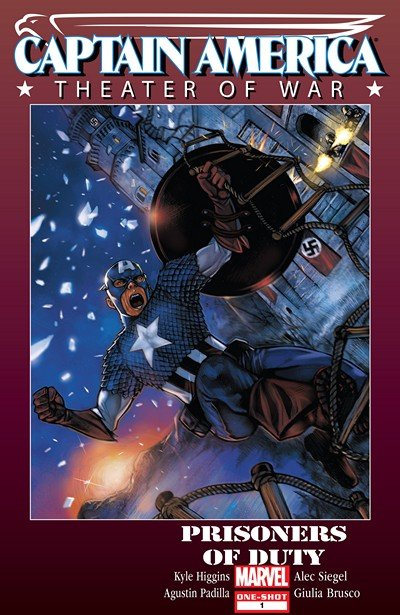 Captain America Theater of War – Prisoners of Duty #1 (2010)