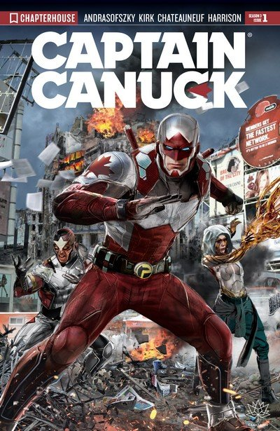 Captain Canuck Season 3 #1 (2017)