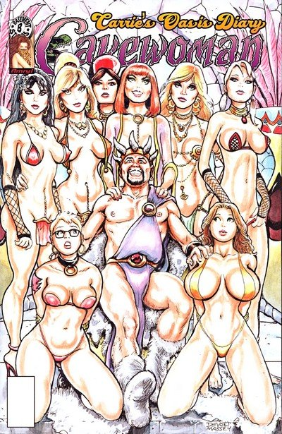 Cavewoman – Carrie's Oasis Diary (Adult Comics) (2017)