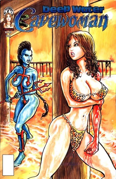 Cavewoman – Deep Water (Adult Comics) (2017)