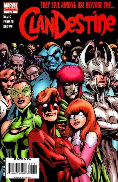 ClanDestine #1 – 5 (2008)