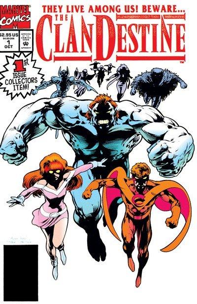 ClanDestine #1 – 12 (1994-1995)